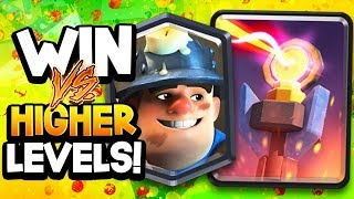 """MINER POSION CONTROL is the """"BEST DECK to WIN vs HIGHER LEVELS"""" -SirTag 2019"""