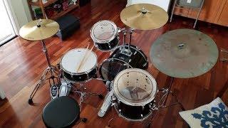 Pearl Roadshow 5 Piece Drum Set Unboxing & Review