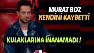 Murat Boz şarkıyı duyunca Kendini Kaybetti  O Ses Türkiye Düello