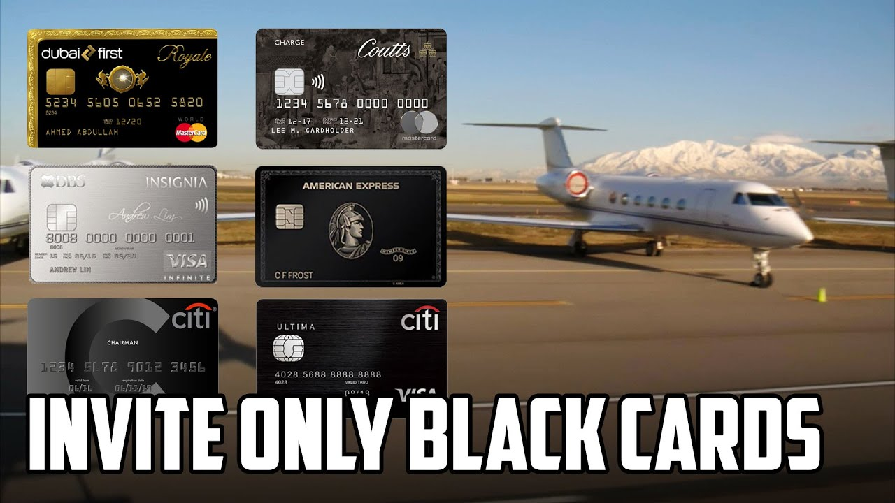 8 Most Exclusive Black Cards on the Credit Card Market