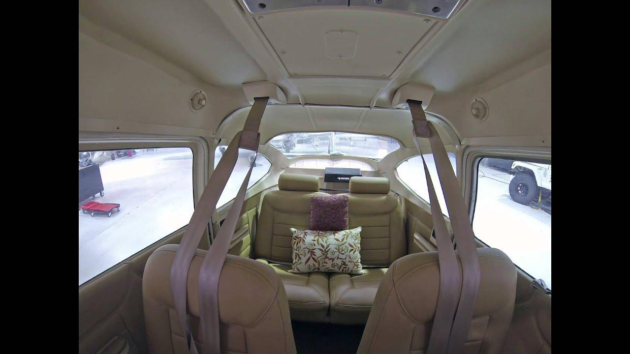 Cessna182 Panel Avionics And Interior Upgrade By Santa Fe