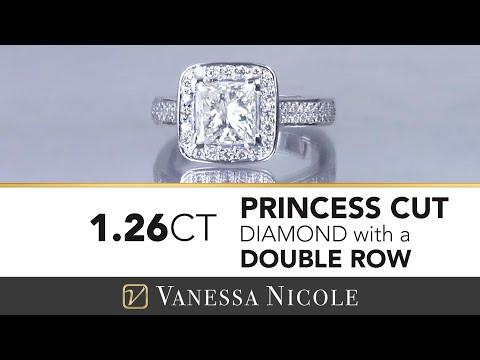 Princess Cut Diamond Engagement Ring 2018