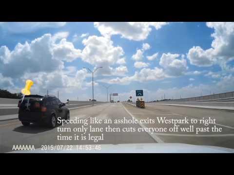 Terrible bad drivers on FM 1093 Katy Richmond Fulshear Texas Part 1