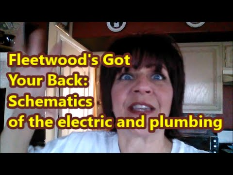 Fleetwood RV Electric and Plumbing Schematics  YouTube