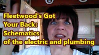Fleetwood RV Electric and Plumbing Schematics - YouTube