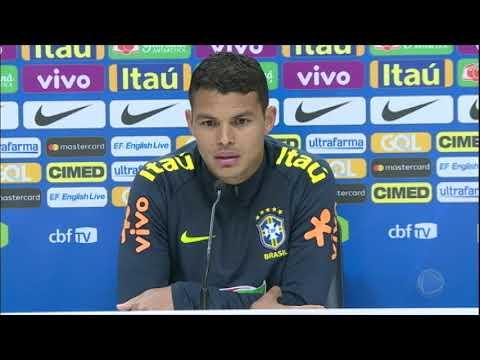 Thiago Silva busca motivação na família para conquistar a Copa do Mundo