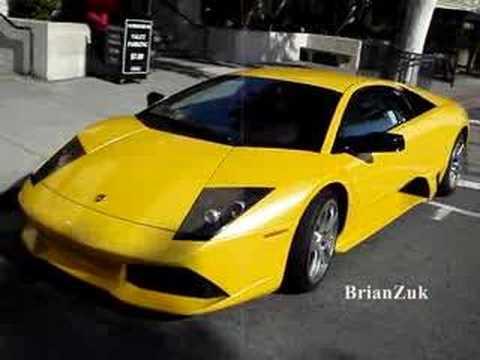 Yellow Lamborghini Murcielago Lp640 Youtube