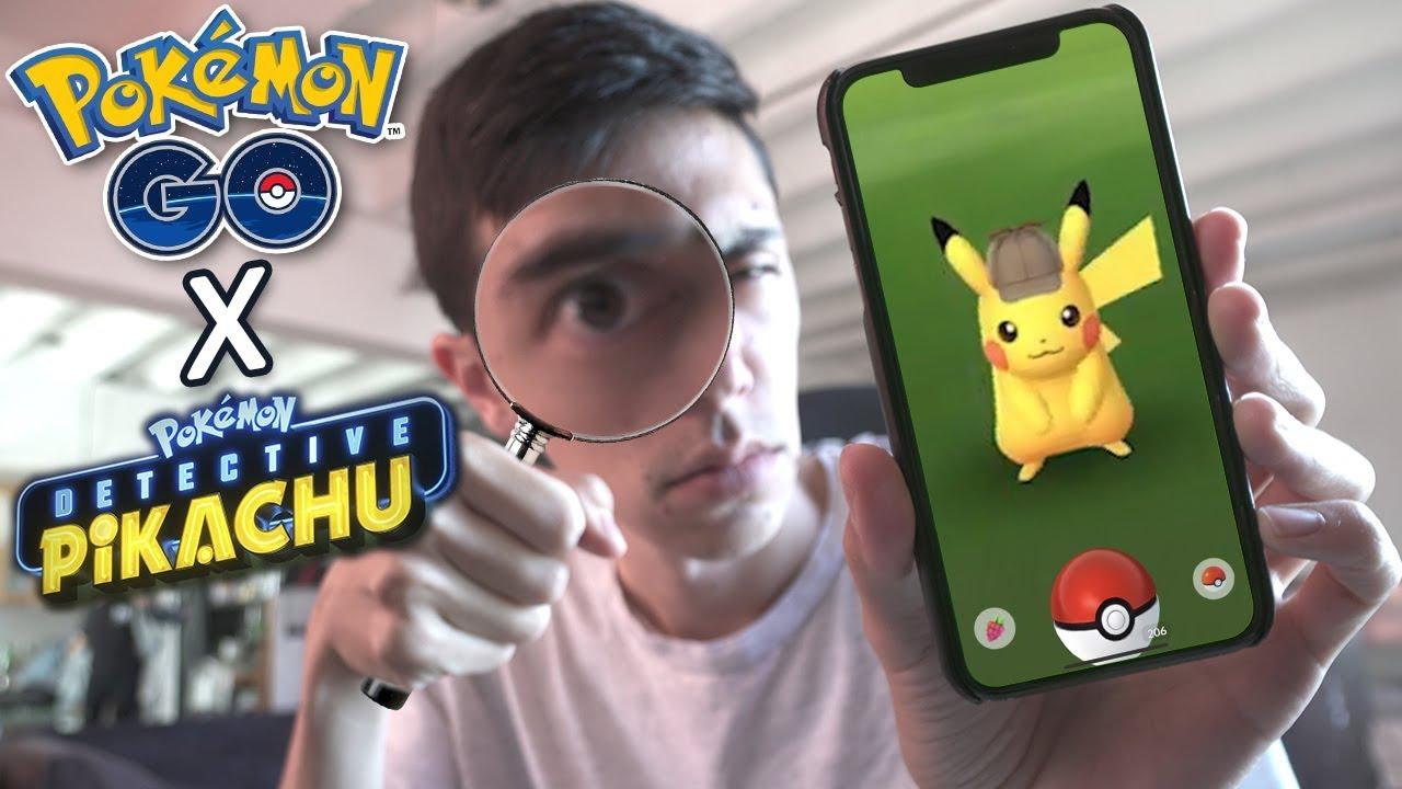 How To Get Detective Pikachu In Pokemon Go Pokemon Go Event
