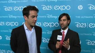 "D23 Expo 2013: Damon Lindelof ""Tomorrowland"", Jason Schwartzman and B.J . Novak ""Saving Mr. Banks"""