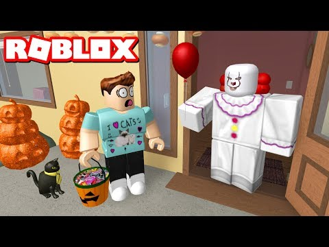 Thumbnail: TRICK OR TREATING GOES WRONG!! - Roblox Halloween