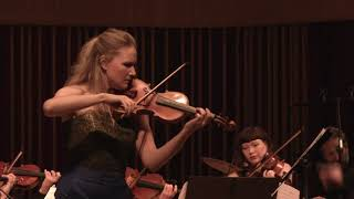Nikolaj Hess 'Melody' Concert Piece for Solo Violin, String Orchestra, Drums and Bass FULL VIDEO