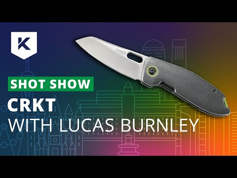 New CRKT Knives For 2020 With Lucas Burnley At Shot Show 2020 - Knivesandtools.com