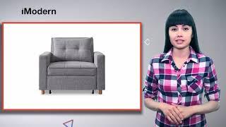 Кресло кровать Scandinavia (обзор от iModern)