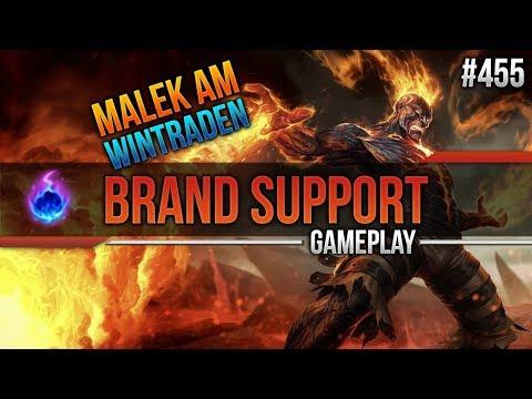 Brand (Support): Malek am Wintraden #455 [League of Legends] [Deutsch / German]