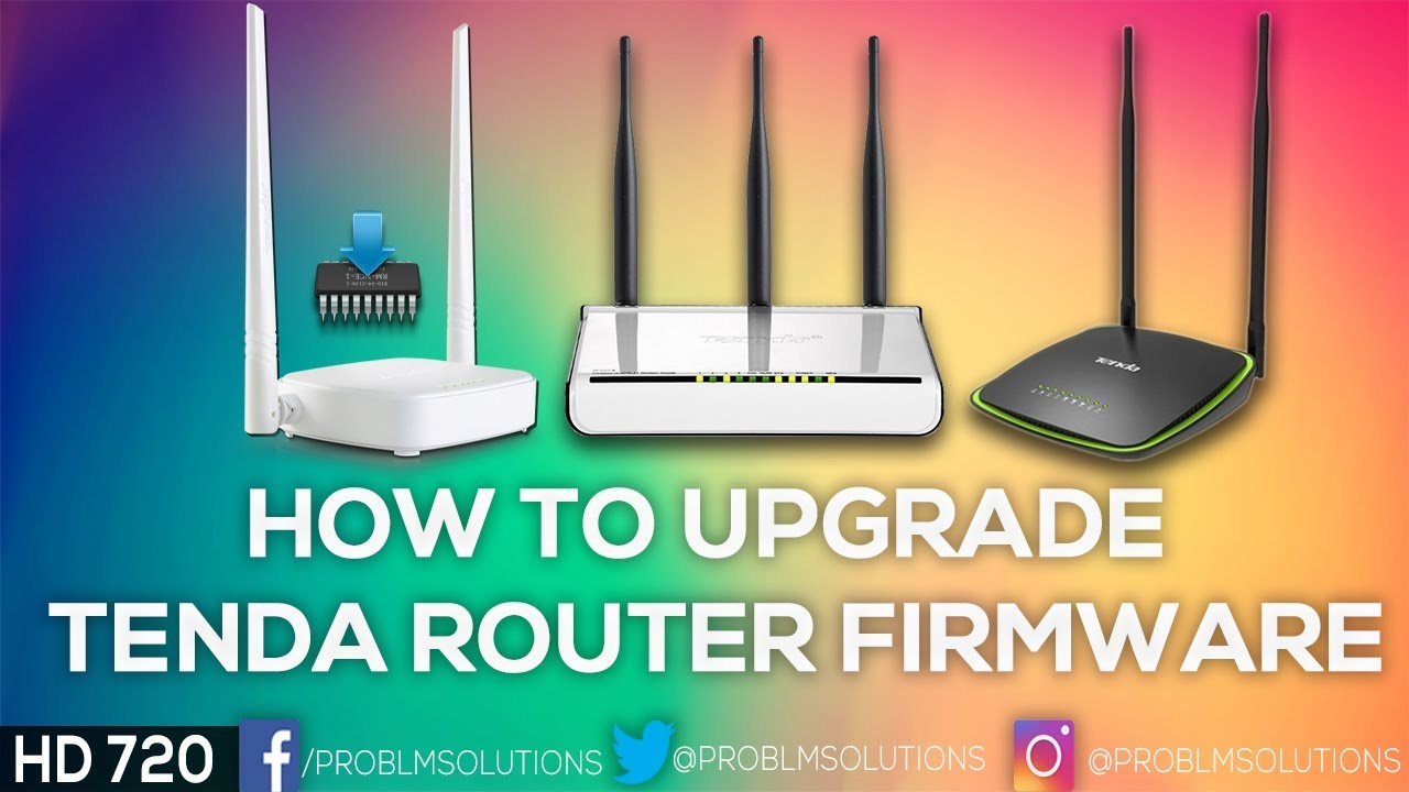 How to Upgrade Tenda Router Firmware Tutorial