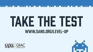 SANS Institute | Level Up | How Do You Start In Cyber Security
