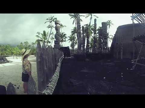 Big Island of Hawaii - Pu'uhonua O Honaunau National Park 360 video made with VeeR Editor