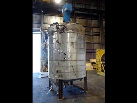 Used- Joe White Tank Co. Reactor - stock # 47149001
