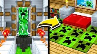 How to Make SECRET CARPET in Minecraft PE! (NO MODS!)