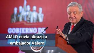 Desconocían problemas de salud de embajador Valero