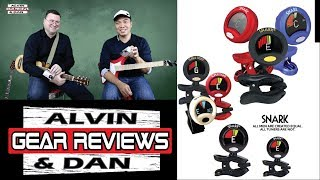 SNARK - THE BEST CLIP ON TUNER? UNBOXING and REVIEW - ALVIN AND DAN GEAR REVIEWS (2018)