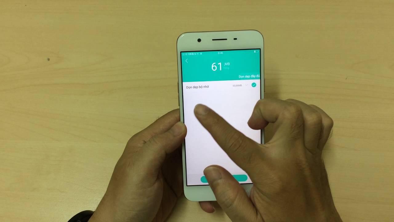Android – Diệt virus, dọn dẹp và tăng tốc máy oppo f1s