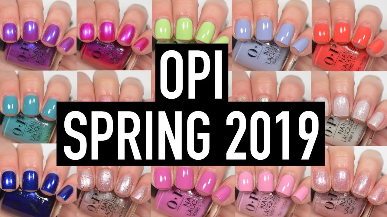 OPI - Tokyo (Spring 2019) + Ulta and Sally\'s Exclusives | Swatch and ...