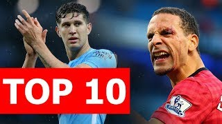 Top 10 hậu vệ đắt giá nhất thế giới
