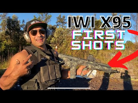 PeaK PRESENTS:  IWI X95 First Shots And First Impressions
