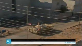 الجيش العراقي يحاول السيطرة على حي الوحدة في الموصل