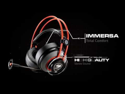 64c75c8e2c8 COUGAR IMMERSA Gaming Headset - YouTube