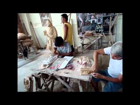 Dukit, Woodcarving in Betis, Pampanga (Documentary)