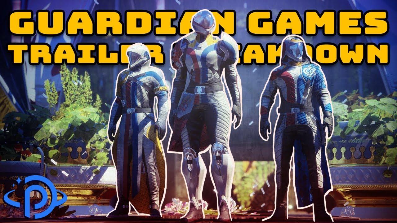 Guardian Games Gameplay Trailer Breakdown! New Armor, Heir Apparent HMG, & More Coming Next Week