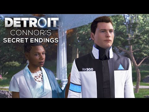 All Connor's Secret Endings (Fail to Find Jericho Outcomes) – DETROIT BECOME HUMAN