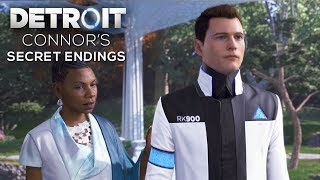 All Connor's Secret Endings (Fail to Find Jericho Outcomes) - DETROIT BECOME HUMAN thumbnail