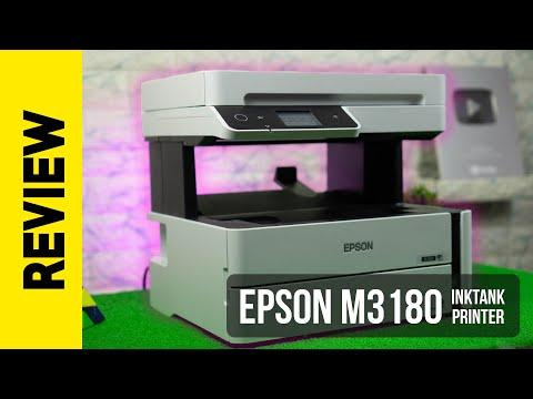 Epson EcoTank M3180 Office Printer - 12 paisa per print - Review