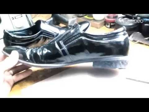 Ремонт каблуков в мужских туфлях