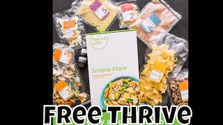 How to Get FREE Thrive Life Freeze Dried Food