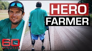 Aussie farmer loses both legs in freak lawnmower accident | 60 Minutes Australia