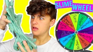 MYSTERY WHEEL OF SLIME CHALLENGE! Slime Challenges!