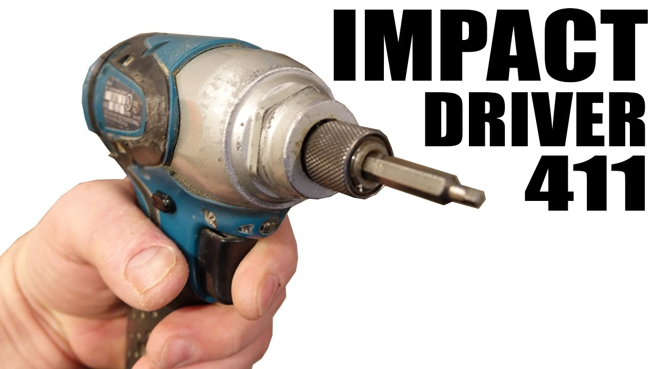 How Impact Drivers Work And Other Fun Stuff