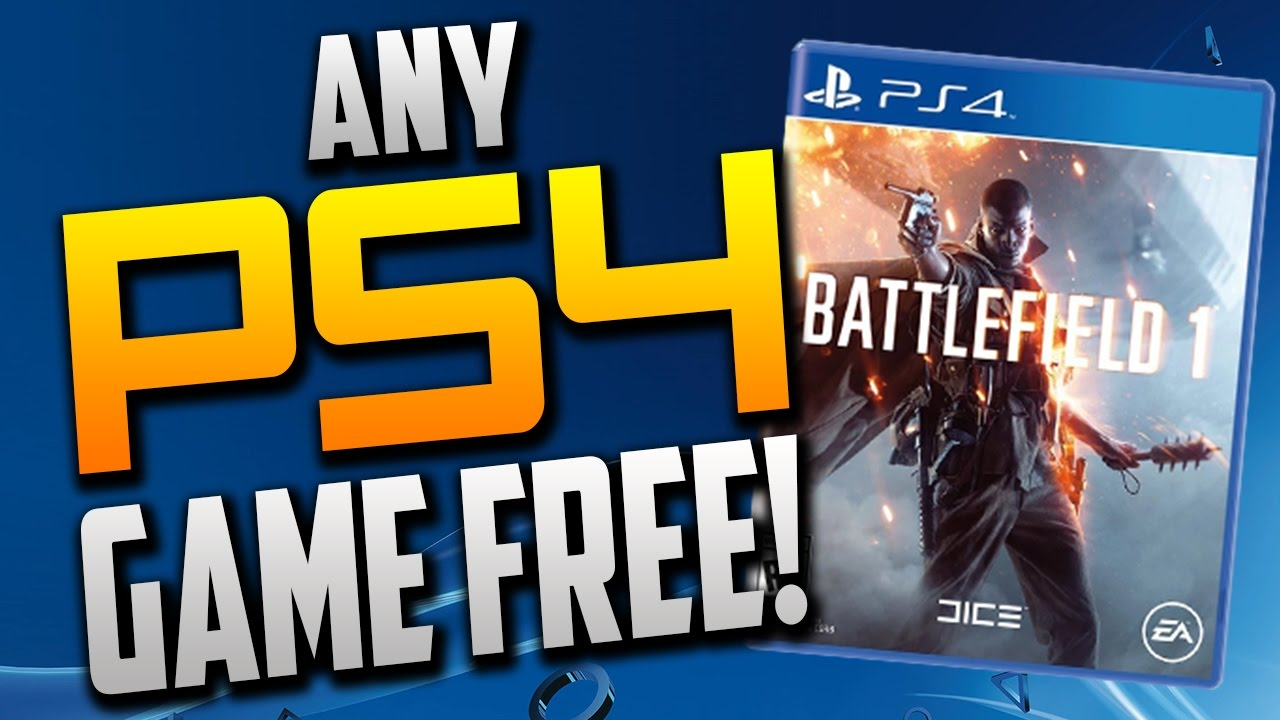 PS4 games free download