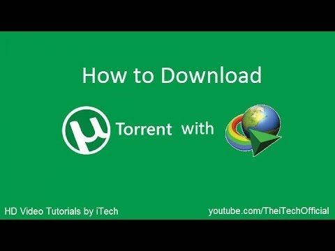 How to Download Torrent with IDM without...