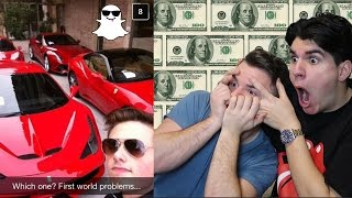 DOUCHIEST RICH KID SNAPCHATS! (TOP 10)
