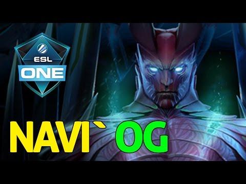 NAVI Vs OG - ESL One Frankfurt 2016 - Dota 2