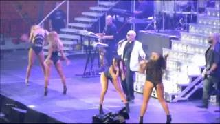 Pitbull and Prince Royce Miami New Year's Eve clips 12/31/13