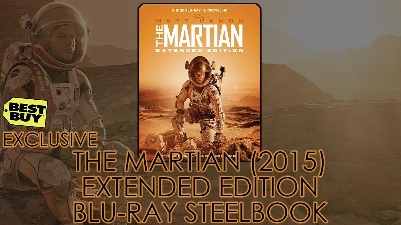 Download The Martian – Extended Edition | Best Buy Blu-ray Steelbook (2015) Unboxing | Matt Damon