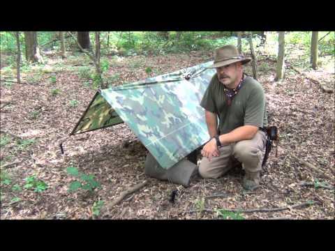 Military Poncho Shelters Type I & II