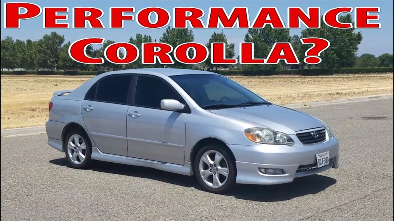 2006 toyota corolla xrs not your typical corolla youtube 2006 toyota corolla xrs not your typical corolla