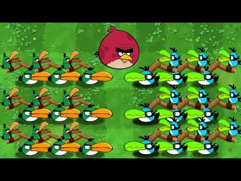 Plants Vs Zombies 2 Angry Birds Nuevas Aves